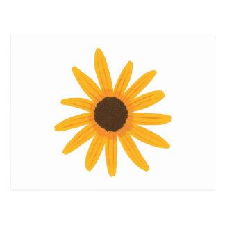 Gelbe Sonnenblume-Malerei-Postkarten Postkarte