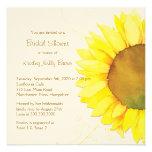 Gelbe Sonnenblume u. Wirbels-BlumenBrautparty