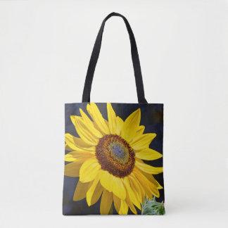 Gelbe Sonnenblumekunst Tasche