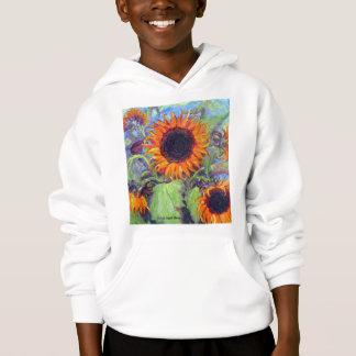 Gelbe Sonnenblumen Hoodie