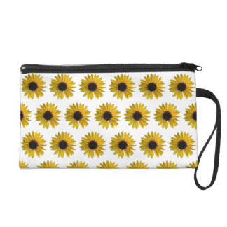 Gelbe Sonnenblumen Wristlet