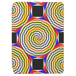 Gelbe Spiralen durch Kenneth Yoncich iPad Air Cover