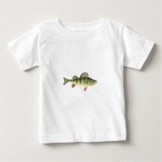 Gelbe Stangen-Kunst Baby T-shirt
