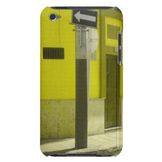 Gelbe Straße iPod Touch Hülle