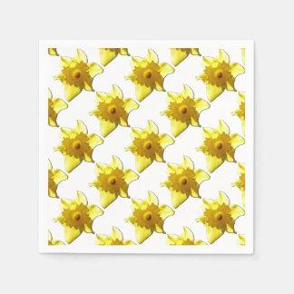 Gelbe Trompete-Narzisse 1,0 Papierserviette