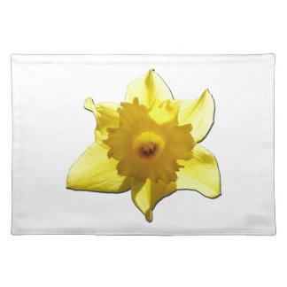 Gelbe Trompete-Narzisse 1,0 Stofftischset
