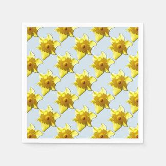 Gelbe Trompete-Narzisse 1.2.b Papierserviette