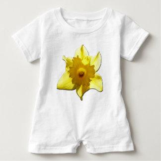 Gelbe Trompete-Narzisse 1.5.5.b Baby Strampler