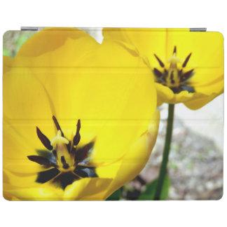 Gelbe Tulpe iPad Abdeckung iPad Hülle