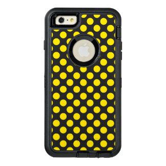 Gelbe Tupfen OtterBox iPhone 6/6s Plus Hülle
