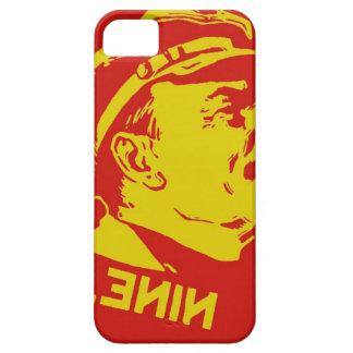 Gelbe u. rote Lenin-Kommunist-Grafik iPhone 5 Case