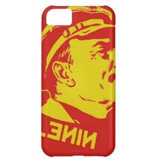 Gelbe u. rote Lenin-Kommunist-Grafik iPhone 5C Hülle