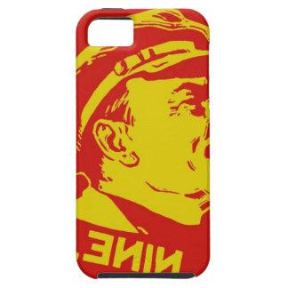 Gelbe u. rote Lenin-Kommunist-Grafik Tough iPhone 5 Hülle