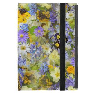 Gelbe und lila Frühlings-Blumen Schutzhülle Fürs iPad Mini