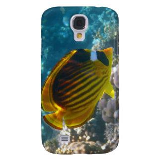Gelbe und schwarze Engels-Fische Galaxy S4 Hülle