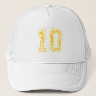 Gelbe Uni #10 Truckerkappe