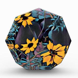 Gelbe wilde Blumen Auszeichnung