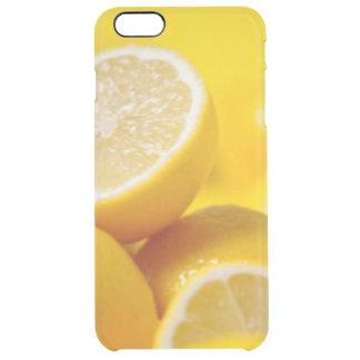 Gelbe Zitronen Durchsichtige iPhone 6 Plus Hülle