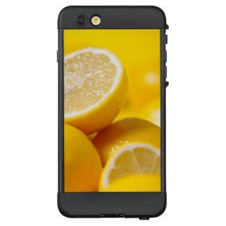 Gelbe Zitronen LifeProof NÜÜD iPhone 6 Plus Hülle