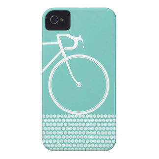 gelber abstrakter Fahrrad iPhone 4 Kasten iPhone 4 Case-Mate Hülle