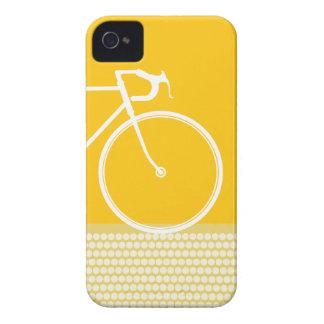 gelber abstrakter Fahrrad iPhone 4 Kasten iPhone 4 Hülle