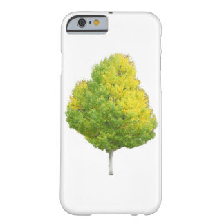 Gelber Aspen-Baum Barely There iPhone 6 Hülle