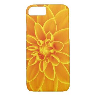 Gelber Blumen-Kasten iPhone 8/7 Hülle