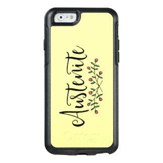 Gelber Blumenaustenit OtterBox iPhone 6/6s Hülle