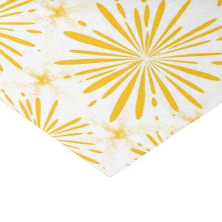 Gelber Druck glatt Seidenpapier