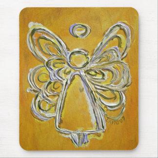 Gelber Engel Mousepad