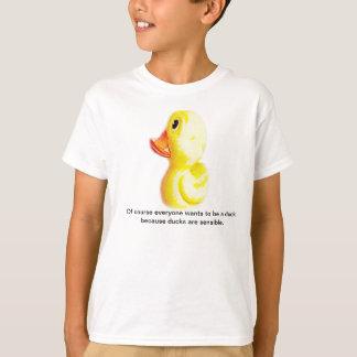 Gelber Enten-T - Shirt