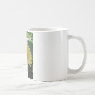 Gelber Gerber/Gerbera Disiy Kaffeetasse