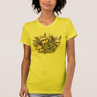 Gelber großer Hurt-Häschen-T - Shirt