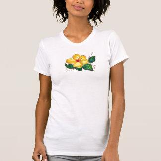 Gelber Hibiskus T-Shirt