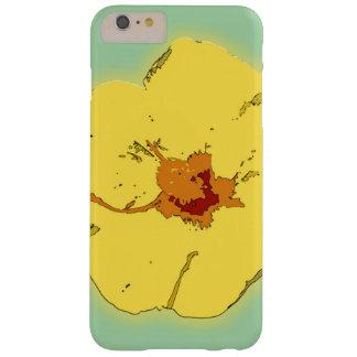 Gelber Kasten Hibiskus-Blumen-Apples iPhone7 Barely There iPhone 6 Plus Hülle