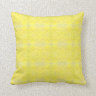 gelber Kissen
