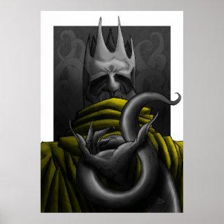 Gelber König Poster