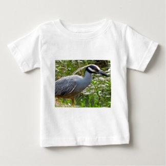 Gelber Kronen-Nachtreiher Baby T-shirt