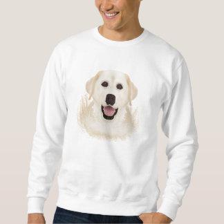 gelber Labrador-Retriever-Cartoon Sweatshirt