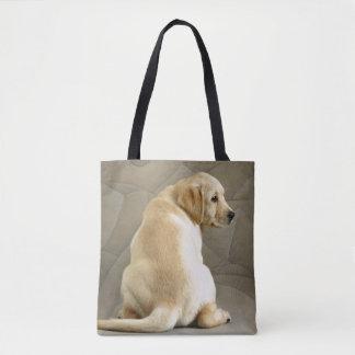 Gelber Labrador retriever-Welpe Tasche