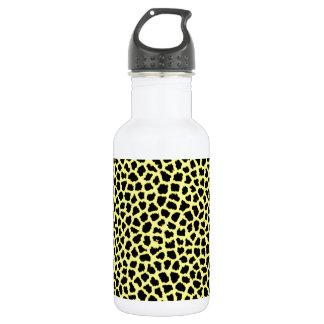 Gelber Leoparddruck Trinkflasche