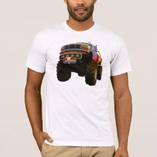 Gelber Monster-LKW T-Shirt