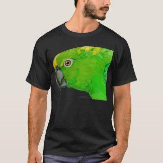 Gelber Nacken-Amazonas-Papagei (dunkler Entwurf) T-Shirt