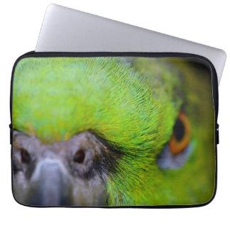 Gelber-Naped Amazonas-Papagei durch Shirley Taylor Laptopschutzhülle
