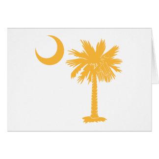 Gelber Palmetto Karte