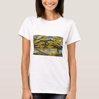 Gelber Palo Verde Blumen-Fotografie-T - Shirt