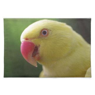 Gelber Papagei Tischset