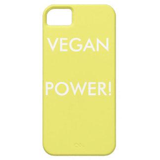 Gelber PastelliPhone Kasten für Vegans mit Barely There iPhone 5 Hülle