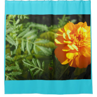 Gelber Ringelblumen-Duschvorhang Duschvorhang