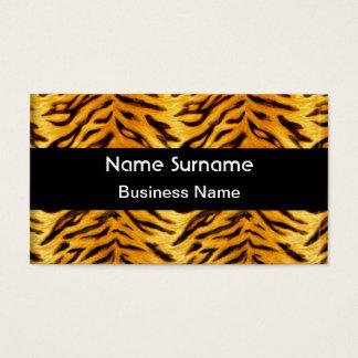Gelber schwarzer Tiger-Blick Visitenkarte